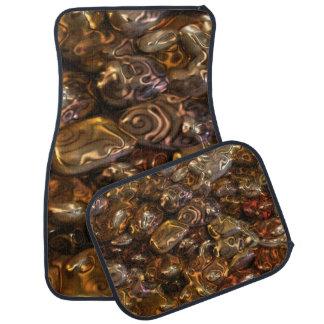 おもしろいなパターン芸術-金川の石 カーマット