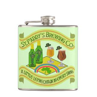 おもしろいなパトリキウスの日の小妖精のビール醸造所 フラスク