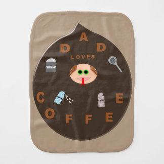 おもしろいなパパモンスターはコーヒーバープクロスを愛します バープクロス