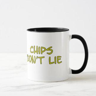 おもしろいなパロディのスローガンの破片 マグカップ