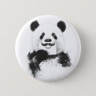 おもしろいなパンダ 5.7CM 丸型バッジ