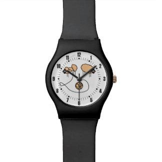 おもしろいなヒツジのカスタム 腕時計