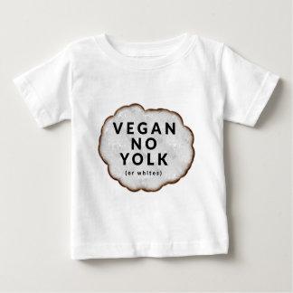 おもしろいなビーガン卵黄無し ベビーTシャツ