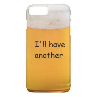 おもしろいなビールノベルティ iPhone 8 PLUS/7 PLUSケース