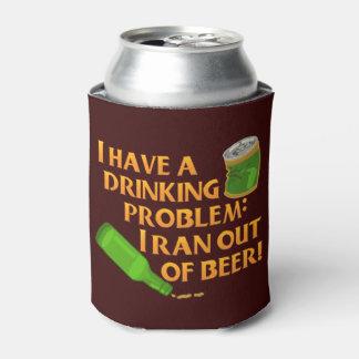 おもしろいなビール飲む問題の冗談 缶クーラー