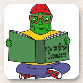 おもしろいなピクルスの読書きゅうりを育てる方法を コースター