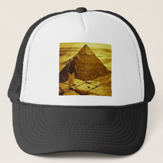 おもしろいなピラミッドのヴィンテージのゴルフ キャップ