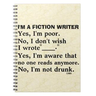 おもしろいなフィクションの作家の解答集 ノートブック