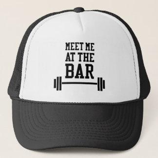 おもしろいなフィットネスの体育館のワイシャツ キャップ