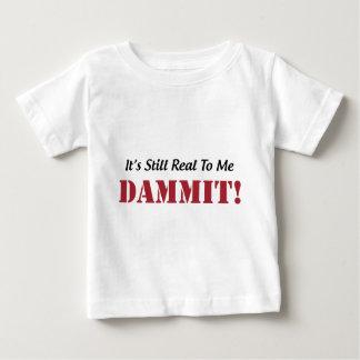 おもしろいなフィットネスの体育館のTシャツ ベビーTシャツ