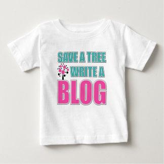 おもしろいなブロガー ベビーTシャツ