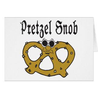 おもしろいなプレッツェルの俗物 カード
