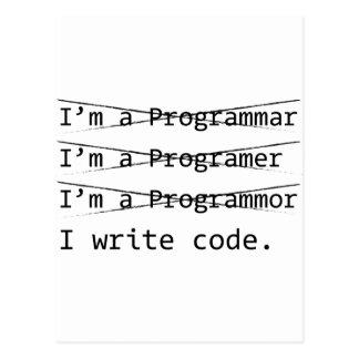 おもしろいなプログラマー はがき