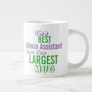おもしろいなベストADMINの補助大きいマグのオフィスの引用文 ジャンボコーヒーマグカップ