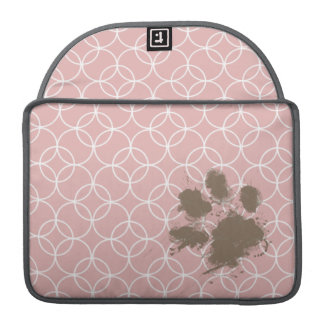 おもしろいなペット; 藤色の円 MacBook PROスリーブ