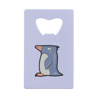 おもしろいなペンギンの栓抜き クレジットカード ボトルオープナー
