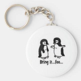 おもしろいなペンギン キーホルダー