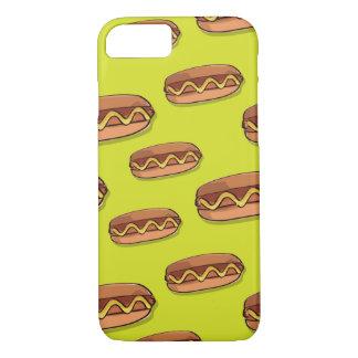 おもしろいなホットドッグの食糧デザイン iPhone 8/7ケース