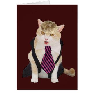 おもしろいなボス猫のバレンタイン カード
