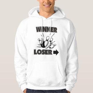 おもしろいなボーリングの勝者の敗者 パーカ