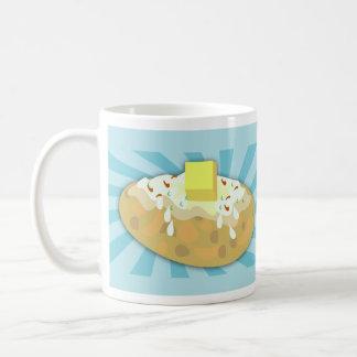おもしろいなポテトの恋人のデザイン コーヒーマグカップ