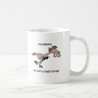おもしろいなマラソン コーヒーマグカップ