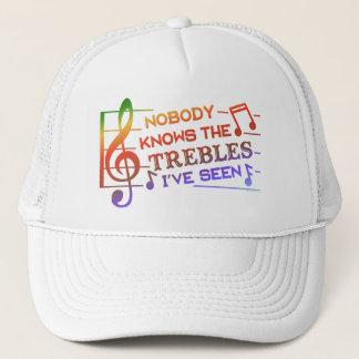 おもしろいなミュージシャンの三重の冗談のしゃれ|の音楽の先生2 キャップ