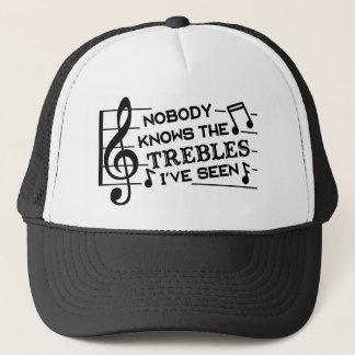 おもしろいなミュージシャンの三重の冗談のしゃれ|の音楽の先生 キャップ