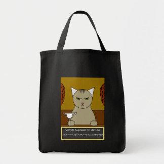 おもしろいなメキシコ猫のトートバック トートバッグ