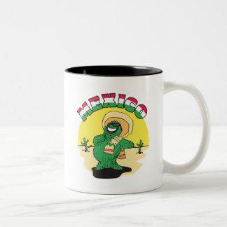 おもしろいなメキシコ ツートーンマグカップ