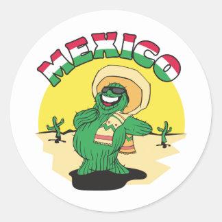 おもしろいなメキシコ ラウンドシール