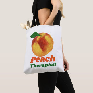 おもしろいなモモのセラピスト トートバッグ