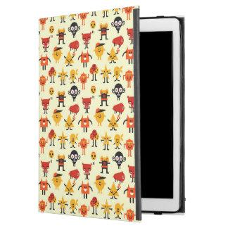 """おもしろいなモンスターパターン iPad PRO 12.9"""" ケース"""