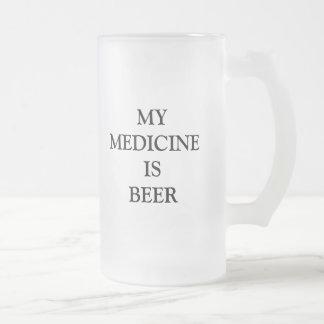 おもしろいなユーモアプロダクト フロストグラスビールジョッキ