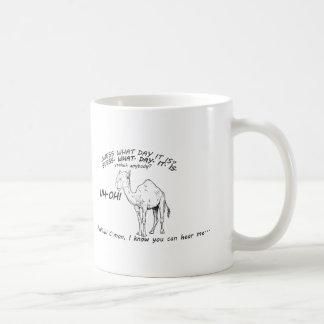 おもしろいなラクダのこぶ日 コーヒーマグカップ