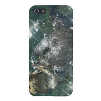おもしろいなラッコの野性生物の芸術2のiphone 4ケース iPhone 5 カバー