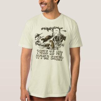 おもしろいなラッコ Tシャツ