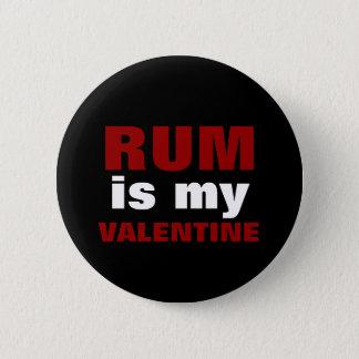 おもしろいなラム酒は私のバレンタイン|の反バレンタインデーです 5.7CM 丸型バッジ