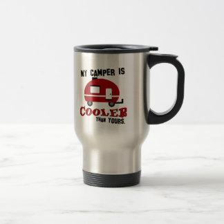 おもしろいなレトロのキャンピングカーのコーヒー・マグ トラベルマグ