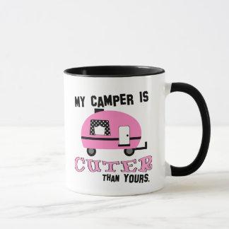 おもしろいなレトロのキャンピングカーのコーヒー・マグ マグカップ