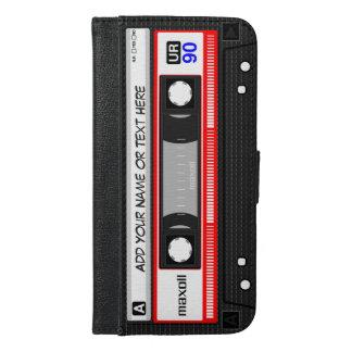 おもしろいなレトロの音楽カセットテープ iPhone 6/6S PLUS ウォレットケース