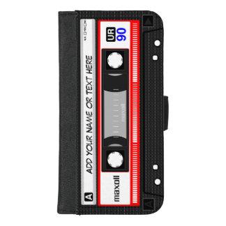 おもしろいなレトロの音楽カセットテープ iPhone 8/7 PLUS ウォレットケース