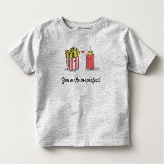 おもしろいなロマンチック私に|のワイシャツを完成させます トドラーTシャツ
