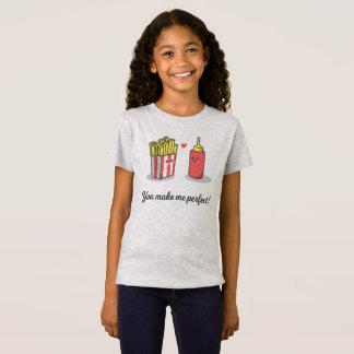 おもしろいなロマンチック私に|ジャージーのワイシャツを完成させます Tシャツ