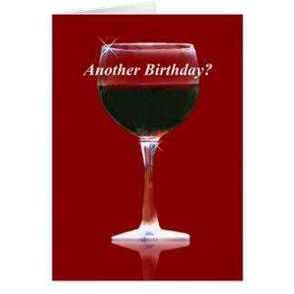 おもしろいなワインのバースデー・カード グリーティングカード