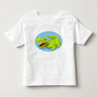 おもしろいなワニ トドラーTシャツ