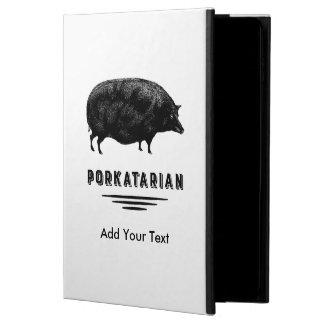おもしろいなヴィンテージのブタのベーコンの恋人のユーモア POWIS iPad AIR 2 ケース