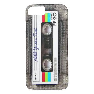 おもしろいなヴィンテージ80sのレトロの音楽カセットテープ iPhone 8/7ケース