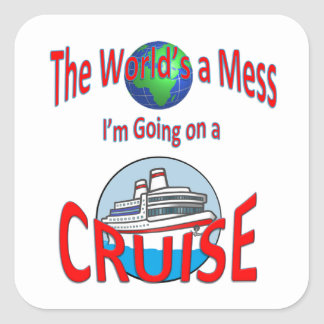 おもしろいな世界混乱の巡航 スクエアシール