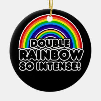 おもしろいな二重虹OMG セラミックオーナメント